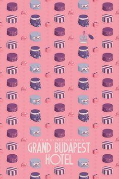 The Grand Budapest Hotel - Plakat von © Maxime Pecourt / Society6