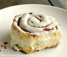 """Gluten Free Cinnabon Copycat Cinnamon Roll Recipe {now with video tutorial!} """"Seriously the most delicious (and fairly easy) recipe for a gf cinnamon roll!! A few tweaks to the recipe and it could be dairy free too. Do yourself a favor and make these!!! Love them!! ❤Chelsea"""""""