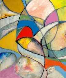 An Abstract Painting by Clive Watts