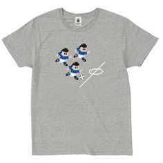 Computer Soccer Game - mokugray - デザインサッカーTシャツ|EVERYDAY FOOTBALL