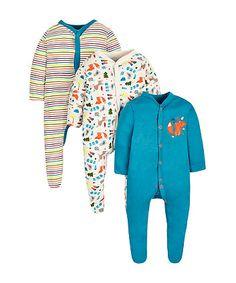 Mr Fox Sleepsuits -