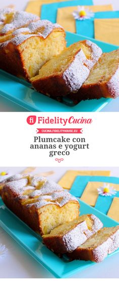 Plumcake con ananas e yogurt greco