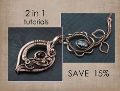 Tutorial wire wrapped pendant PDF Wire Weaving Tutorial Wire