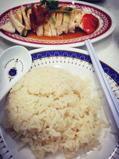 I miss Hainanese Chicken Rice @ Lucky Chicken in S'pore so much