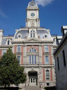 Hamilton County Indiana | Hamilton County Courthouse Detail (Noblesville, Indiana) | Flickr ...