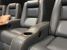 Time to build that custom home theater? Then let's talk luxury! Gemstone Whether you prefer leather or suede, do the research first. Today we offer a beginner's guide to top considerations for your custom from cleaning to colors to durability!