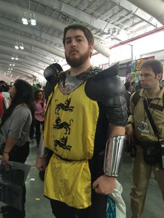 A random cosplayer