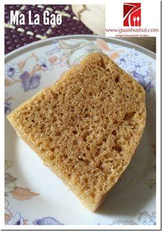 Yeast Raised Gula Melaka Ma La Gao aka Chinese Steamed Cake (酵母椰糖马拉糕)    #guaishushu #kenneth_goh #malagao