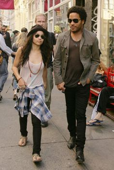 Zoe Kravitz must steal her dad's clothes. But I guess Lisa Bonnet dresses like them too...who knows