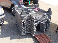 castle dog house by blueeyedpug, via Flickr