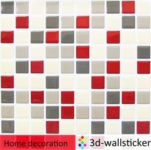 Easy installation peel and stick wall tile