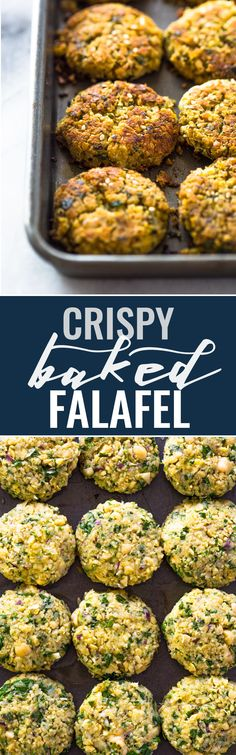 Falafel are vegan, nutritious and super delicious. This tasty oven-baked version makes the crispiest falafel that taste just like the fried stuff without all the added calories. If you're lo…