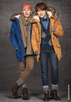 Eunhyuk and Sungmin - spao naver blog update