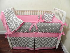 Hey, I found this really awesome Etsy listing at https://www.etsy.com/listing/160966239/custom-baby-bedding-set-paige-gray