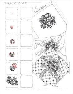 Zentangle Patterns | Clogit~Zentangle