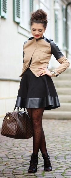 It does not matter your age, everyone can have fun with stockings! Think of them as makeup for your legs...be neutral or be bold!