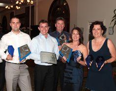 Telford, Brad, Gavin, Sharon & Belinda at HIA Awards 2011 - 9 Awards WOW!