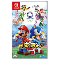 Nintendo Switch Mario & Sonic AT Tokyo 2020 Olympic by Sega Tokyo Olympics, Rio Olympics 2016, Vido Games, Video Game Development, Japanese Games, Nintendo Switch Games, Rio 2016, Wii U, Olympic Games
