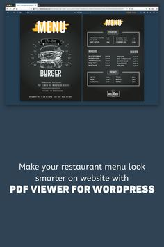 Do you have a WordPress Website? Do you have a restaurant business? Do you know PDF viewer For WordPress? Let's visit the PDF viewer for WordPress's CodeCanyon products details page. By ThemeNcode - A Envato Elite Author. Modern Reception Desk, Reception Desk Design, Bullet Journal Bookshelf, New Home Quotes, Some Love Quotes, Free Facebook Likes, Hope You Are Well, Service Quotes, Social Media Impact