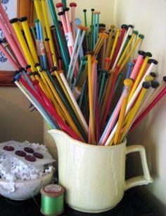 Paint Brushes Knitting Needles And Brushes On Pinterest