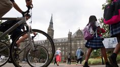 Georgetown students have filed a discrimination complaint against a campus group promoting heterosexual marriage