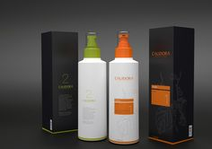 Calidora Cosmetics Packaging Design by Husamettin Mutluturk