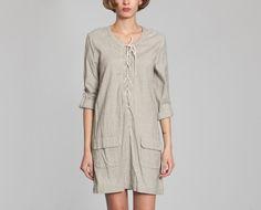 Robe Nancy Beige Swildens en vente chez L'Exception