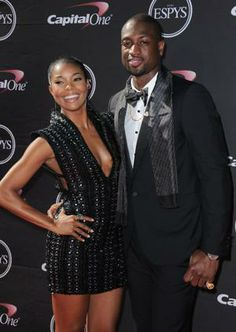 Congratulations to Miami Heat star Dwyane Wade and actress Gabrielle Union on their #engagement: http://yhoo.it/1948XKR #NBA #wedding