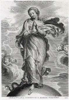 L'Immaculée conception. GALLE Cornelis le Vieux, 1ère moitié 17e siècle. Châlons-en-Champagne ; musée des beaux-arts et d'archéologie. Nefertari J. Aguilar