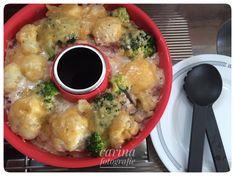 Kartoffel/Blumenkohl Auflauf mit Hackbällchen (Omina) | Carinas Rezepte