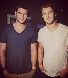 liam and chris hemsworth