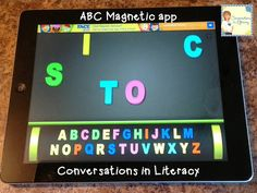 ABC Magnetic iPad app:  use for letter sorting  for Kindergarten and for Making Words Lessons for older students