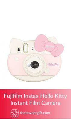 Fujifilm Instax Hello Kitty Instant Film Camera Photographer Gifts, Gifts For Photographers, Instant Film Camera, Fujifilm Instax Mini, Bed Room, Professional Photographer, Hello Kitty, Pink, Dorm