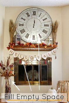 Fall Mantle decor | Fall Essentials | Fall Mantle | Fall home decor