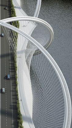 San Shan Bridge - Beijing.                                                                                                                                                                                 Mais