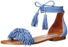 Steve Madden Women's Sweetyy Flat Sandal *** Check out this great image  : Lace up sandals