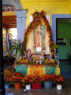 Day of The Dead Altar  Oaxaca
