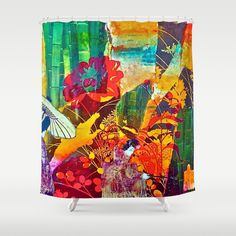 Courtship Shower Curtain by LadyJennD
