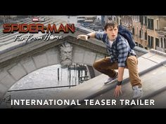 Sony has released the first trailer for Tom Holland's new Spider-Man: Far From Home film. Spider-Man: Far From Home hits in theaters on July 2019 Watch the First Trailer for Tom Holland's Spider-Man: Far From Home Jake Gyllenhaal, Tom Holland, Nick Fury, Marvel Films, Marvel Dc, Spiderman Marvel, New Trailers, Movie Trailers, Marvel Trailers