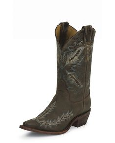 WANT! Women's Distressed Chocolate Puma Cowhide Boot - BRL106  http://www.countryoutfitter.com/products/20180-womens-distressed-chocolate-puma-cowhide-boot-brl106