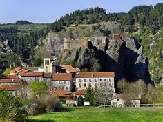 Arlempdes, France, location within Auvergne region. Beyond The Border, France, Rhone, Small Towns, Facade, Most Beautiful, Europe, Earth, Italy