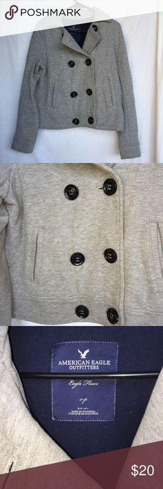 American Eagle Coat Jacket Says size S, would say it fits more like a L American Eagle Outfitters Jackets & Coats Pea Coats