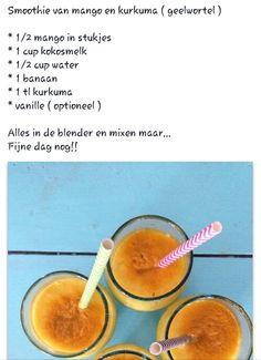 Mango kokosmelk kurkuma
