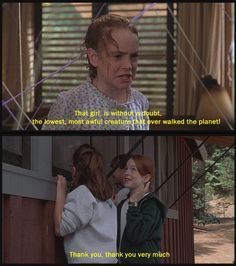 parent trap - watched this movie so many times as a kid...
