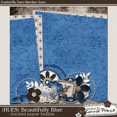 Scrapbooking TammyTags -- TT - Designer - Connie Prince, TT - Item - Paper,  TT - Style - Stacked Paper