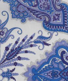 Lord Paisley H Tana Lawn, Liberty Art Fabrics