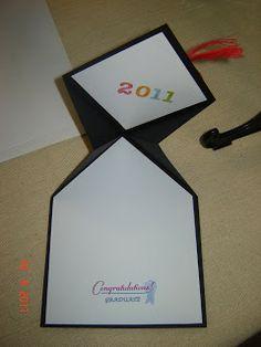 Handmade by Lavinia: Graduation Card