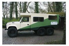 Land Rover 6x6 Adventure Camper
