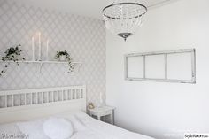 windows, teddy, IKEA, chandeliers, rustic - Lilly is Love Ikea Chandelier, Rustic Chandelier, Home Bedroom, Master Bedroom, My Ideal Home, Shabby Chic, Windows, Furniture, Home Decor