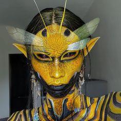 Cool Makeup Looks, Creative Makeup Looks, Crazy Makeup, Pretty Makeup, Goth Makeup, Sfx Makeup, Costume Makeup, Makeup Art, Character Design Inspiration